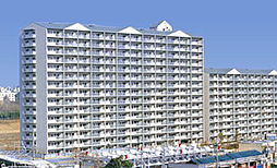浅香山グリーンマンション[9階]の外観