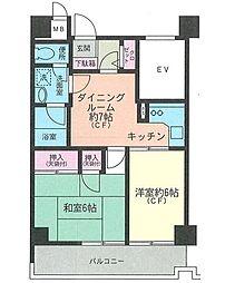 神奈川県横浜市南区別所5丁目の賃貸マンションの間取り