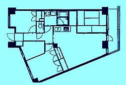 グリーンサイドホームズ[1階]の間取り