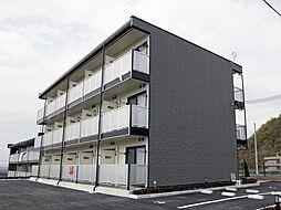 兵庫県西宮市山口町金仙寺の賃貸アパートの外観