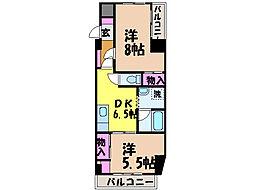 ライブタウン鉄砲町・[8階]の間取り