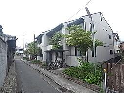 兵庫県加古川市加古川町溝之口の賃貸アパートの外観