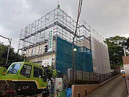 神奈川県川崎市高津区下作延5丁目の賃貸アパートの外観