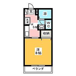 M&I HOUSE[1階]の間取り