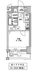 ミラージュパレス南堀江[6階]の間取り