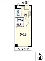 メゾンサカエ[2階]の間取り