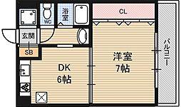 シェリール木村Part3[4階]の間取り