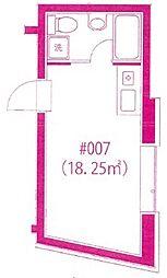 12ダース[3階]の間取り