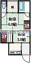 [一戸建] 大阪府大阪市東成区玉津3丁目 の賃貸【/】の間取り