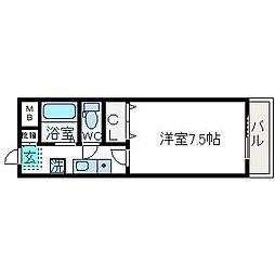 Collection高槻市駅前[503号室]の間取り