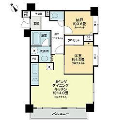ライオンズマンションときわ台第3[1階]の間取り