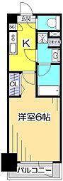グランド・ガーラ立川[14階]の間取り