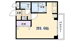ドーム1番館[102号室]の間取り