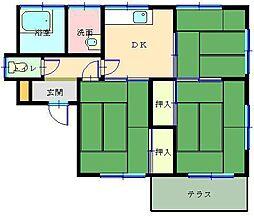 [一戸建] 埼玉県深谷市東方 の賃貸【埼玉県 / 深谷市】の間取り