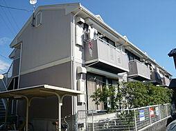 大阪府高槻市古曽部町1丁目の賃貸アパートの外観