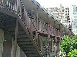 ヒラノハイツA棟[201号室]の外観