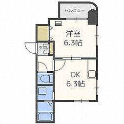 DEVEX282[4階]の間取り