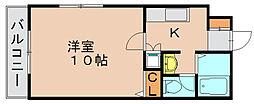 ソレイユ博多駅南[7階]の間取り