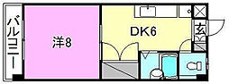シェレナ辻町[304 号室号室]の間取り