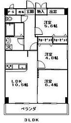 シルクロード[1階]の間取り