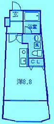 神奈川県川崎市高津区久本1丁目の賃貸マンションの間取り