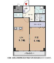泉北高速鉄道 栂・美木多駅 徒歩19分の賃貸マンション 1階1LDKの間取り