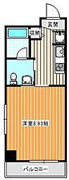 エルセレーノ住之江[3階]の間取り