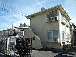 大阪府富田林市若松町西1丁目の賃貸アパートの外観