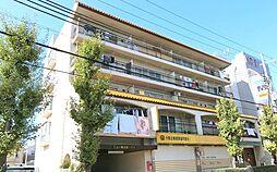 大阪府八尾市陽光園2の賃貸マンションの外観