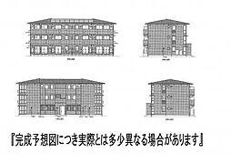 (仮)D−room新生町[202号室]の外観