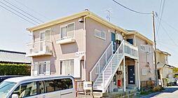 千葉県長生郡白子町牛込の賃貸アパートの外観