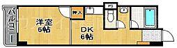 東カン大濠パークサイド[5階]の間取り