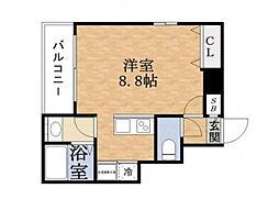 CEREZA都島[9階]の間取り