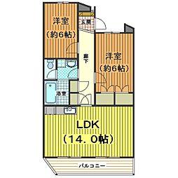 テラス新宿[3階]の間取り