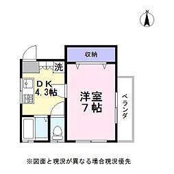 HGビル[2階]の間取り