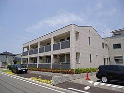 大阪府茨木市真砂玉島台の賃貸アパートの外観