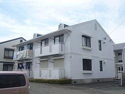 ホワイトハイツYAMASAKI[101号室]の外観
