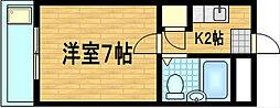 プラモーションアベニュー[2階]の間取り