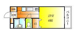メゾンTOKI[1階]の間取り