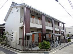 大阪府寝屋川市木田町の賃貸アパートの外観