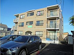 北海道千歳市長都駅前4丁目の賃貸マンションの外観