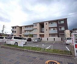 京都府木津川市梅美台5丁目の賃貸アパートの外観