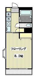 新町ソレーユ2[3階]の間取り