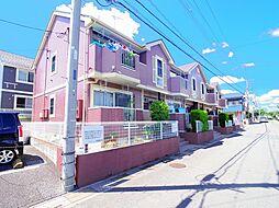 埼玉県新座市馬場2丁目の賃貸アパートの外観