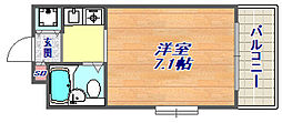 ジョイフル東灘5[2階]の間取り