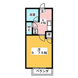 ハイツアグラ[2階]の間取り