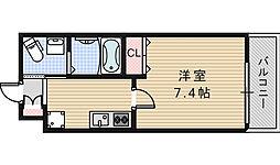 Marks 昭和町[102号室]の間取り