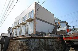 千葉県柏市増尾台2の賃貸アパートの外観