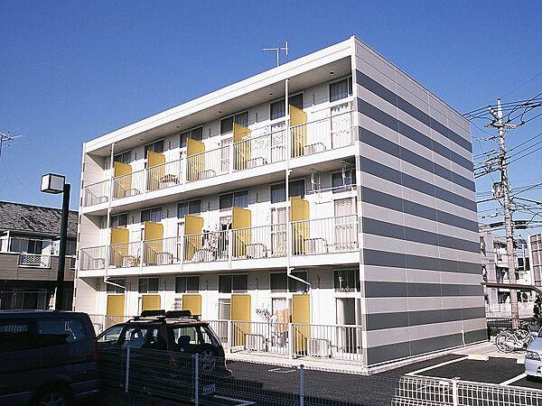 埼玉県越谷市東大沢1丁目の賃貸マンションの外観