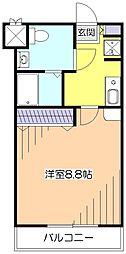 パインバンフソノ[1階]の間取り